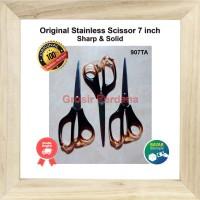 Original Gunting Besar Tajam 7 inch/Pemotong/Gunting Kertas Kain Asli