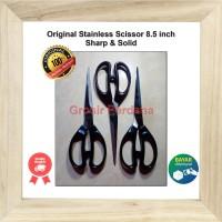 Original Gunting Besar Tajam 8,5 inch / Pemotong / Gunting Kertas Kain