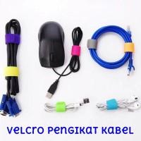 Velcro Pengikat Kabel Cable Tie Merapikan Kabel Strap