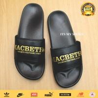 Sandal Slop Pria Macbeth-Import-Black Gold