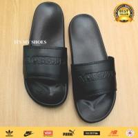 Sandal Slop Pria Macbeth-Import-Full Black