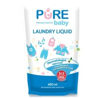 Pure Baby Laundry Liquid 450ml 450 ml purebb Pure BB detergent cair