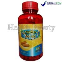 UltraWay-C 500 mg 100 Softgels - Vitamin C Memelihara Daya Tahan Tubuh