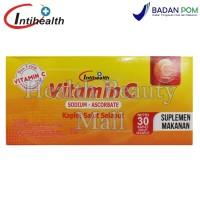 Intihealth Vitamin C 500 mg 30 Tabs - Memelihara Daya Tahan Tubuh