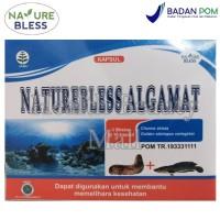NATUREBLESS Algamat 30 Caps - Meregenerasi Sel Tubuh - Nature Bless