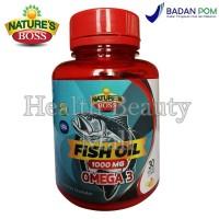 Nature's Boss Fish Oil Omega 3 1000mg 30 softgels - Minyak Ikan