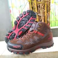 Sepatu Hiking Pria-Sepatu Outdoor snta 479 Brown-Sepatu Gunung Boot