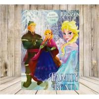 Kartu pengantar Tidur Frozen Family Bond Seukuran Majalah