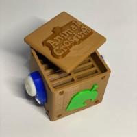 Nintendo Switch Animal Crossing Theme game card box
