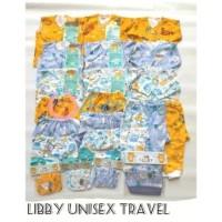 Paket 31 Pcs LIBBY& MIYO Newborn MOTIF Terbaru / Paket Baju Bayi Baru - LibbyUnisex 3-6