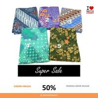SALE DOBY KONTEMPORER dobi dobby bahan kain batik cap halus diskon