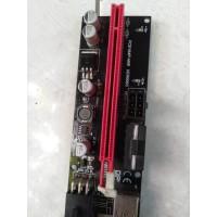 pcie riser mining version 9 pcie 6 pin power