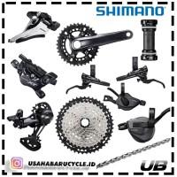 Groupset Shimano Deore XT M8120 2x12 Speed