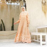 [REAL PICTURE] MELINA SIGNATURE DRESS MAXMARA LUX TANAH ABANG PGMTA