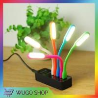 Lampu USB LED Portable Flexible Stik Lamp Stick Lampu Baca Sikat Gigi