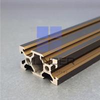 V Slot 2040 Aluminium CNC Track - Classic Dark Bronze