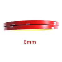 Double tape 3m Merah Lem 2 Sisi Kecil Besar VN3 Panjang 3M - Lebar 6mm