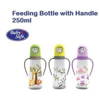 Baby Safe Botol Susu / Feeding Bottle with Handle 250ml JP-005