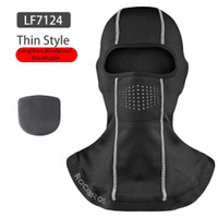 ROCKBROS Balaclava Masker Motor Sepeda Hiking Full Face Cap Wit Filter