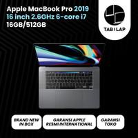 Apple Macbook Pro 2019 MVVJ2 16 Inch 2.6 GHz i7 16GB SSD 512GB BNIB