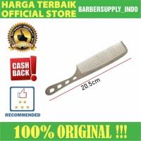 Sisir Barber / Salon Over Comb Stainless Premium