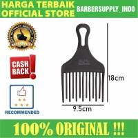 Sisir Garpu Barber Salon Texture Premium