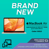 Apple MacBook Air 2020 13.3'' 256GB Up to 3.2GHz MWTL2 GOLD