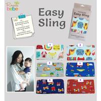 ROYALE BEBE Gendongan Kaos (Geos) Easy Sling Motif / Gendongan Bayi
