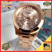 Jam Tangan Fossil Wanita ES3885 Branded Cewek Original Ori Terbaru