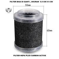 REFILL FILTER UNTUK Air Purifier Mobil HEPA Carbon Active SBJA1