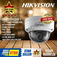 NEW IP CAMERA HIKVISION 4MP DS-2CD1143G0E-I / Support H.265 POE + WDR