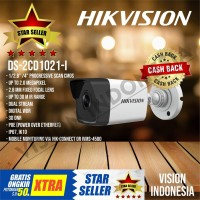NEW IP CAMERA HIKVISION 1080P DS-2CD1021-I / LENSA 2.8mm Wide Angle
