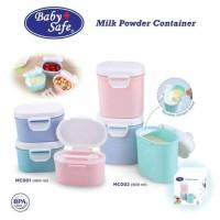 Baby Safe MC001 Milk Powder Container Tempat Susu - 400mL