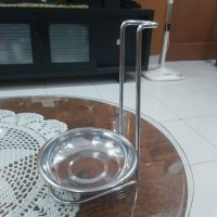 Ladle Soup Stand / Spoon Rest Vertical Holder Dudukan Centong MURAH
