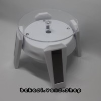 Stand Base Gundam Display Rotating Solar LED Action Figure