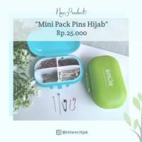 Paket Smile Pins Hijab isi peniti bohlam mini newey jarum besar nemoto