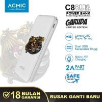 ACMIC GARUDA (LIMITED EDITION) C8 8000mAh PowerBank 2A Fast Charge