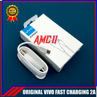 Kabel Data Vivo V9 Y83 Y95 ORIGINAL 100% Fast Charging Micro USB