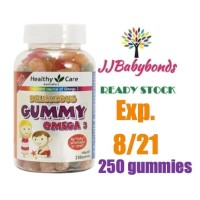 Healthy Care KIDS Gummy Omega 3 250 gummies