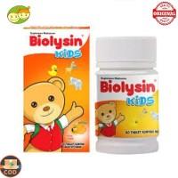 Biolysin Kids Orange 30 Tablet Vitamin C Anak Nafsu Makan Gemuk Pintar