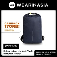 Ransel Rolltop Anti Maling Original XD Design Bobby Urban Lite Navy