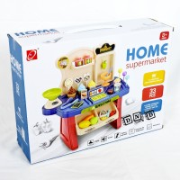 Mainan Anak Home Supermarket Ice Cream Mini Market Shopping Play Set