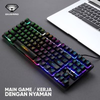Keyboard Gaming Kabel Mechanical Divipard GK-10 RGB LED Rainbow