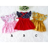Kimono Tutu Dress Bayi Perempuan Murah / Baju Bayi Cewe 3 6 9 bulan