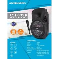 Speaker Portable Karaoke Simbadda CST 835N