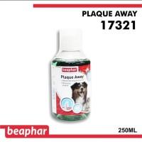 Beaphar - 250ml Plaque Away cairan pembersih gigi anjing kucing