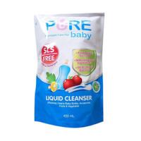 Pure Baby liquid bottle cleanser 450ml 700ml pure bb purebb 450 ml 700