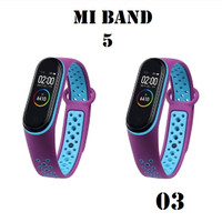 Strap Miband 5 / Mi Band 5 strap dual Warna Kualitas Original - STRAP 03
