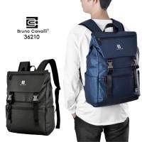 Bruno Cavalli Backpack Waterproof - Tas Ransel Laptop BC 36210 - Blue Navy