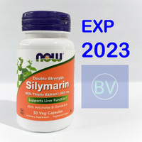 Now Foods Food Silymarin Milk Thistle 300 Mg 50 Support Liver Function